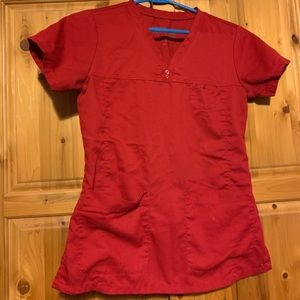 Red greys anatomy top ♥️